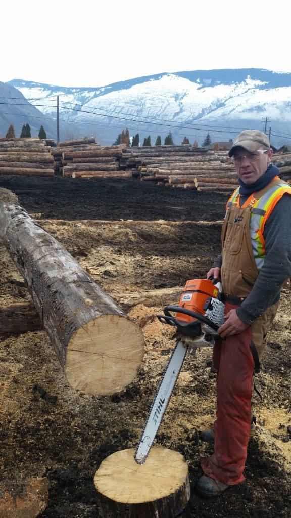 Grading logs